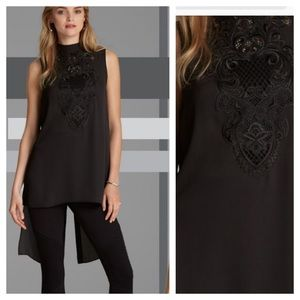Preview! Bar III Embroidered Tunic