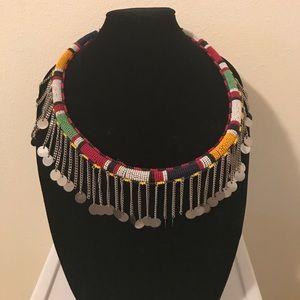 Original Handmade Massai Necklace from Kenya
