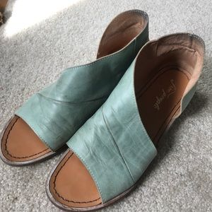 Free People leather sandals size 41 Spain/11 US