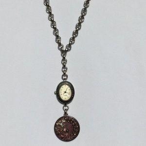 Stylish Legacy Watch Necklace!