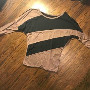 Two tone long sleeve Tunic