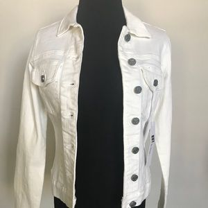 White Jean Jacket from KUT size Small
