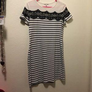Striped dress or tunic