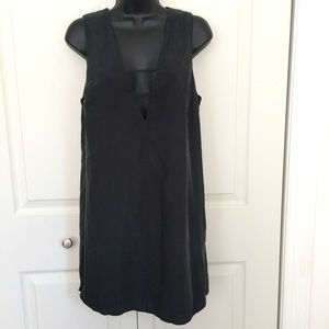 Black Caged Cut Out Shift Dress worn once S