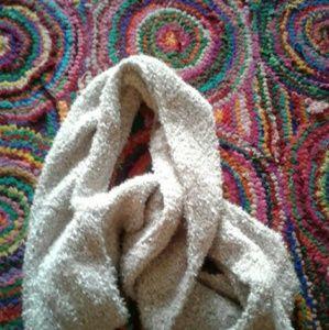 Soft beige scarf