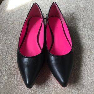 Obsession Rules size 10 leather flats