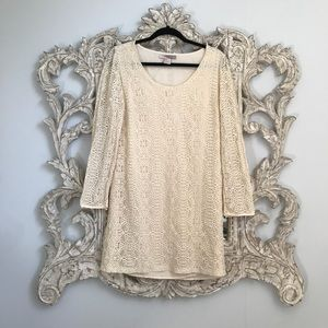 Love 21 Lace Long Sleeved Dress