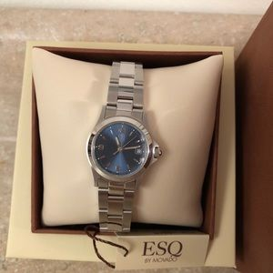 ESQ by Movado Stainless Steele Watch