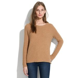 Madewell Leafstitch Crewneck Sweater