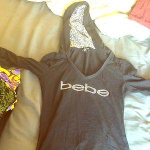 Bebe hoodie shirt