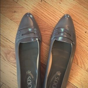 Tod's grey loader New without tags