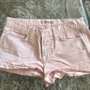 Pink J brand shorts