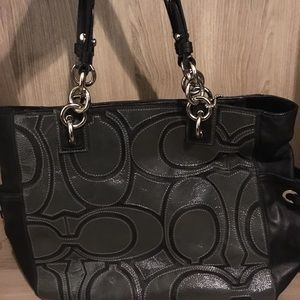 Glam Coach Bag