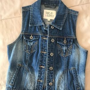 Thread and Supply Jean vest