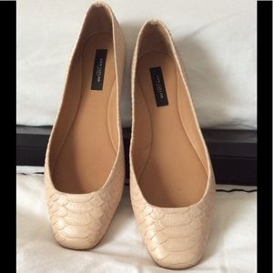 ❤️Ann Taylor perfect blush ballet flat sz 8