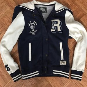 Roots Letterman Jacket - never worn!