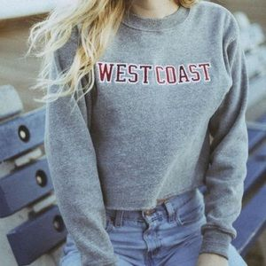 Brandy Melville [ John Galt ] Cropped West Coast
