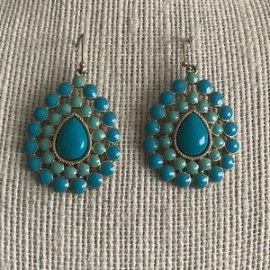 Stella & Dot Charlize Teardrop earrings