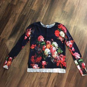 Halogen flower sweater