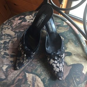 "Brighton ""Talula"" Black Lace Shoe"