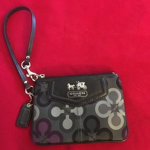 Coach Madison Clover Small Wristlet F44418