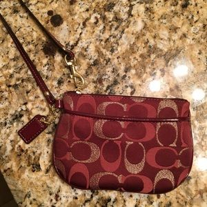 Never used Coach Wristlet