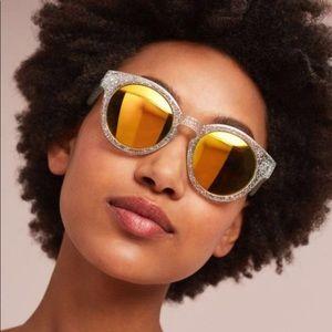 Anthropologie Round Goldie Sunglasses