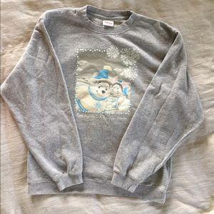 Disney Store Holiday Sweatshirt
