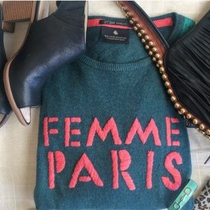 Femme Paris (Paris girl!) sweater