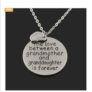 ❤️Grandmother &Granddaughter Pendent Necklace ❤️