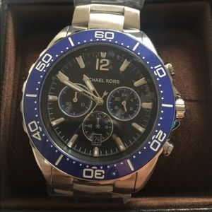 NWT Michael Kors men's watch