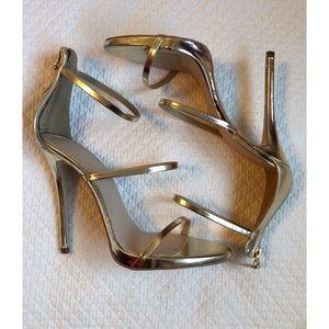 Public Desire 3 strap heels
