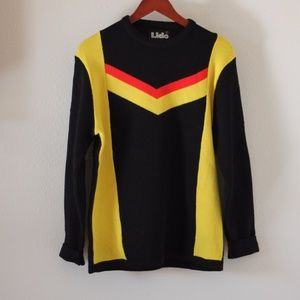 Vintage 80s Lido Wool Ski Sweater
