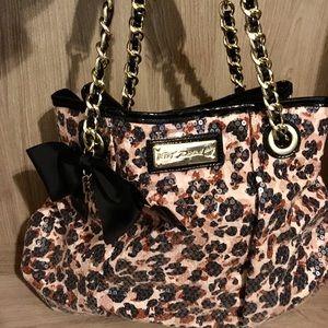 Leopard Betsey Johnson Bag