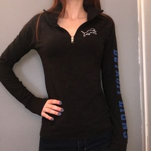 Pink Detroit Lions Sweatshirt