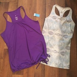 Bundle of workout tops! Nike & old navy