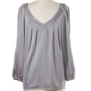 DVF • Silk v-neck blouse