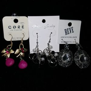 3 earring bundle