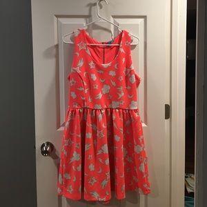 Bright, fun casual dress