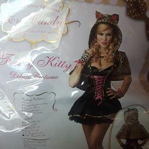 Frisky Kitty Halloween Costume Cat Leopard