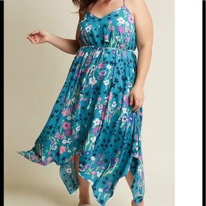 NWT ModCloth two has all day midi dress