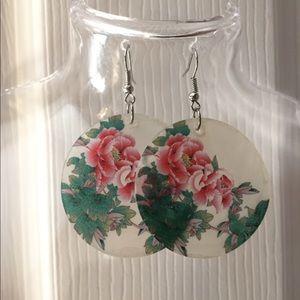 Pretty Floral Earrings