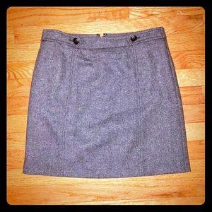 Perfect for Fall!  LOFT Wool Mini Skirt - EUC!