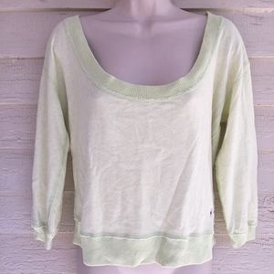 ABERCROMBIE & FITCH 100% cotton 3/4 sleeve