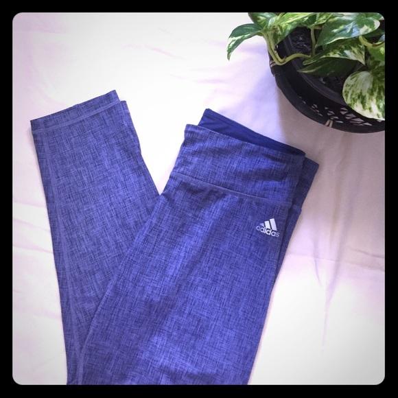 e932538d2c82b adidas Pants -  25 PRICE ✂ ADIDAS Climate Blue Workout Leggings
