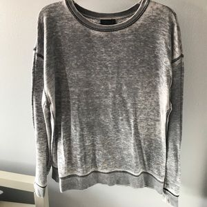 Topshop gray sweater
