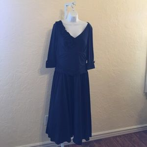 Jessica Howard Navy Special occasion dress