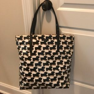 Kate Spade Scotty Dog Tote Bag