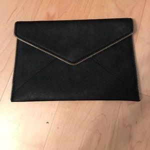 Black Rebecca Minkoff Envelope Clutch