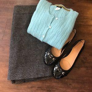 J CREW Aqua 3/4 Sleeve Cardigan, size XS